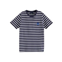 Gestreept t-shirt 160110