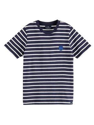 Scotch & Soda Gestreept t-shirt 160110