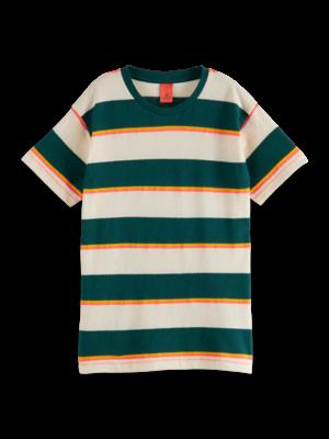 Scotch & Soda Gestreept t-shirt 161127