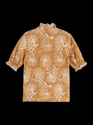 Scotch & Soda T-shirt met print 161303