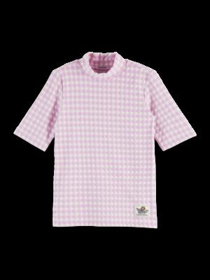 Scotch & Soda Geruit t-shirt 161295