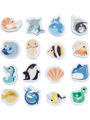 Soft foam bath puzzle sea animals