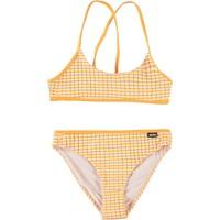 Neddy orange stripe bikini