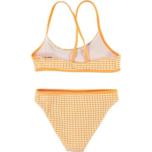 Molo Neddy orange stripe bikini