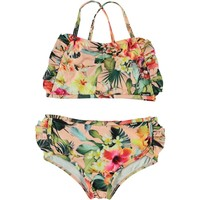 Nanda Hawaiian flowers bikini