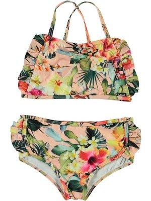 Molo Nanda Hawaiian flowers bikini