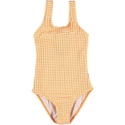 Molo Nika orange stripe badpak