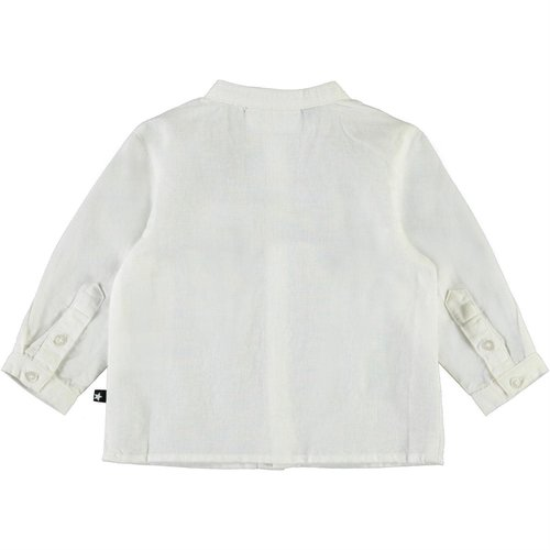 Molo Eno white star blouse