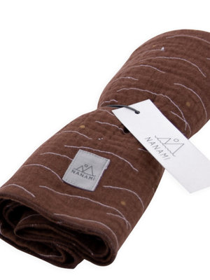 Nanami Diaper Hills print Brown