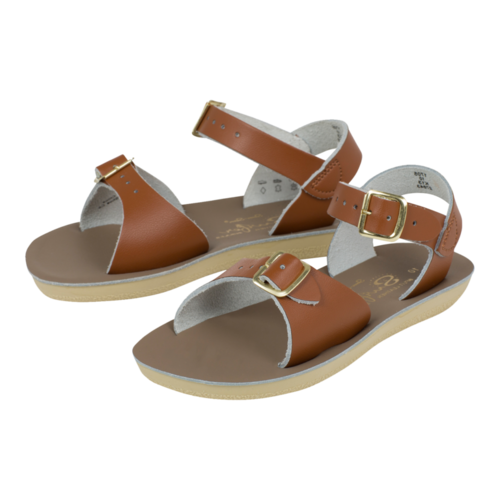Saltwatersandals Surfer Youth Tan