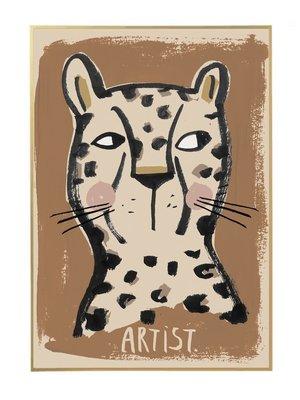 Studio loco Poster leo artist