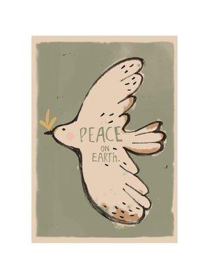 Studio loco PEACE BIRD WALLPOSTER