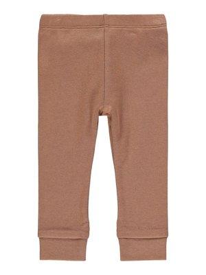Lil' Atelier Legging gaya carob brown