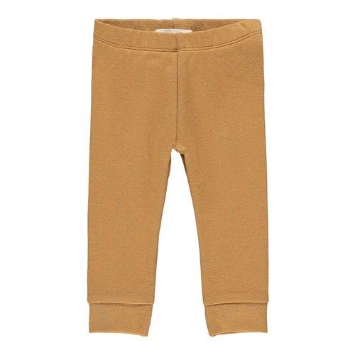Lil' Atelier Legging gaya tobacco brown