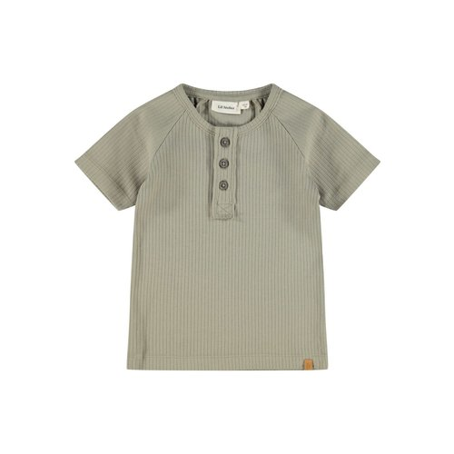 Lil' Atelier Tshirt Isak silver sage