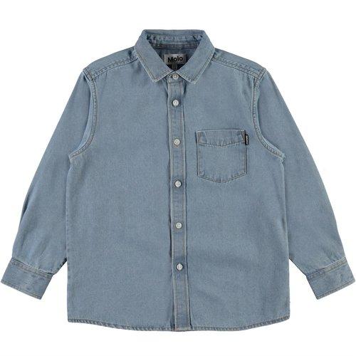 Molo Reenoz denim blouse