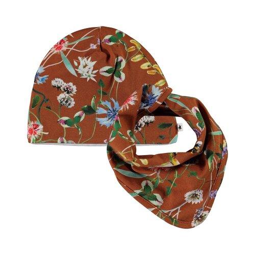 Molo Net hat wildflowers