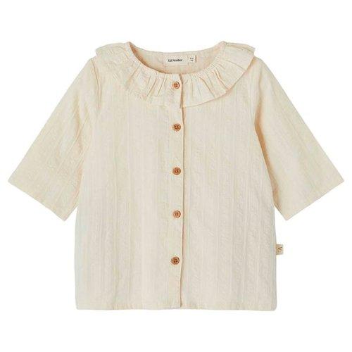 Lil' Atelier Solaima blouse met 3/4 mouw