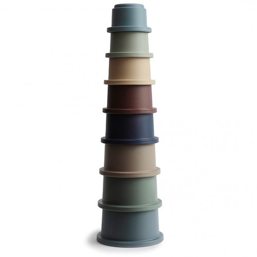 mushie STACKING CUPS FORREST