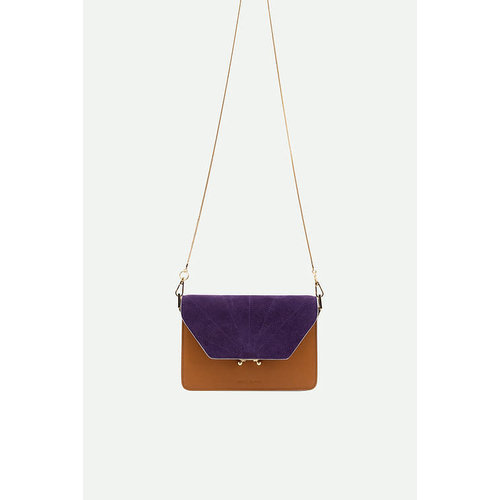 Sticky sis club shoulder bag | coloré | cider brown