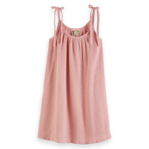 Scotch & Soda A lijn jurk roze 162177