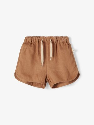Lil' Atelier Saga shorts tobacco brown