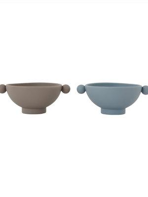 OYOY living design Tiny inka bowl grey