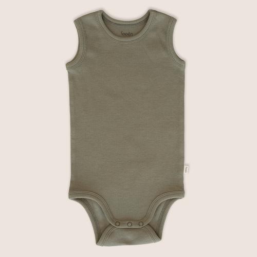 Feeën mini Tanktop bodysuit artichoke
