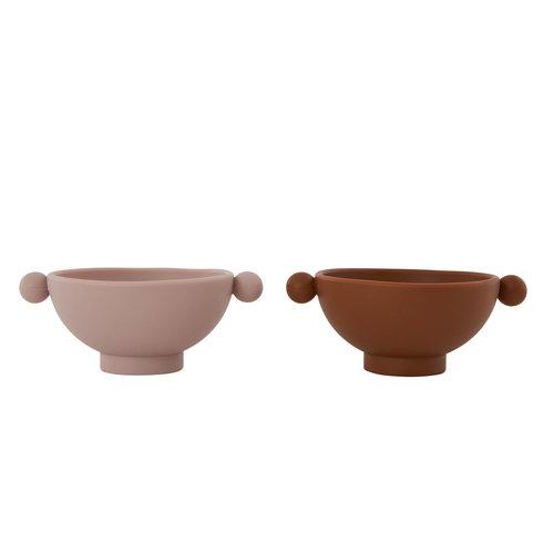 OYOY living design Tiny inka bowl dusty rose