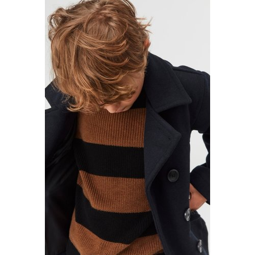 Molo Bosse gebreiden sweater IRON