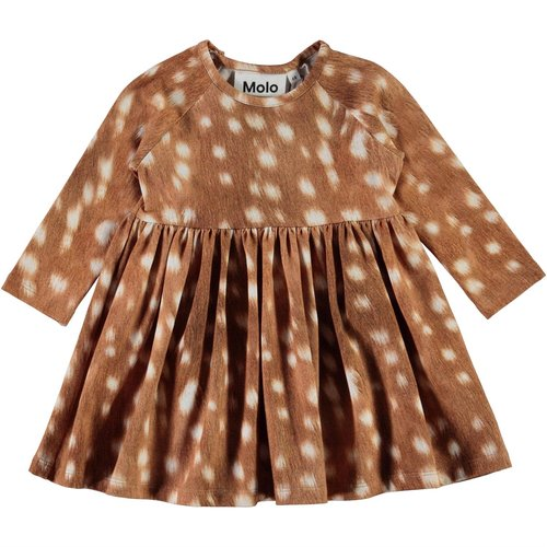 Molo Charmaine dress baby fawns