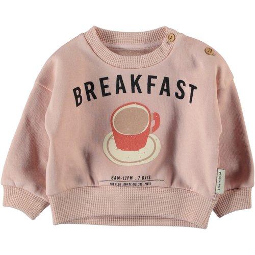 piupiuchick Unisex sweatshirt | light pink w/ print