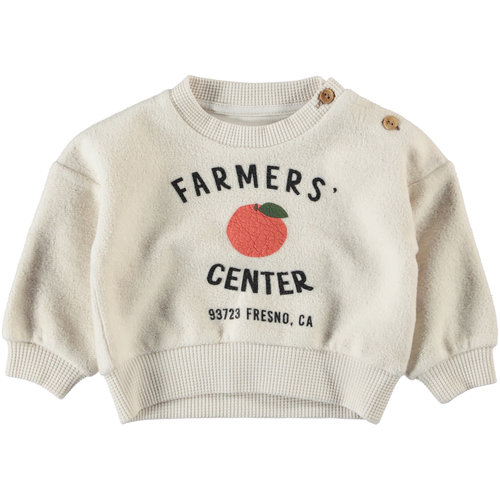 piupiuchick Unisex sweatshirt | ecru w/ print