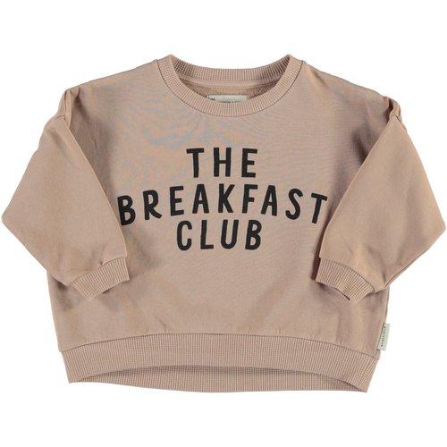 piupiuchick Unisex sweatshirt | light brown w/ print