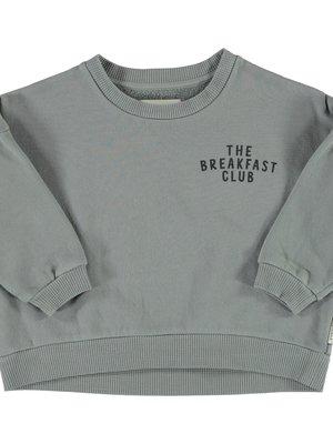 piupiuchick Unisex sweatshirt | grey w/ print