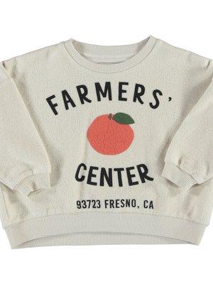 piupiuchick Unisex sweatshirt | ecru w/ print |