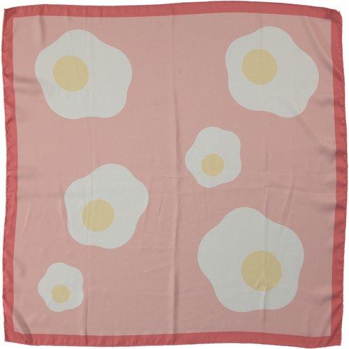piupiuchick Silky bandana/scarf | fuchsia w/ print |