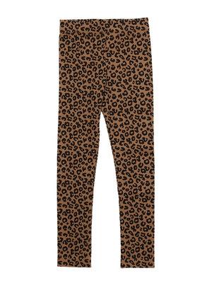 Maed for mini Chocolate leopard legging