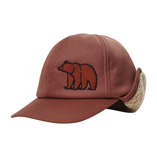 CarlijnQ Grizzly - cap wt embroidery & teddy lining