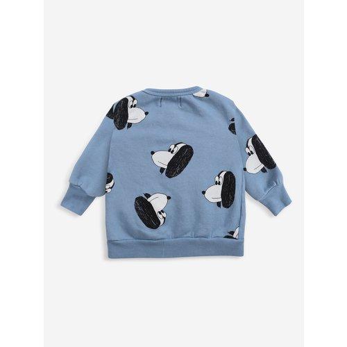Bobo choses Doggie All Over zipped sweatshirt