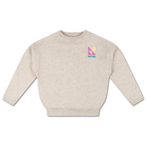 Repose AMS Crewneck sweater light mixed grey
