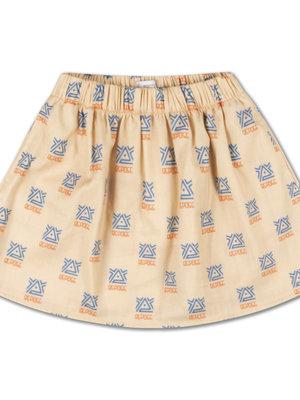Repose AMS Midi skirt all over print
