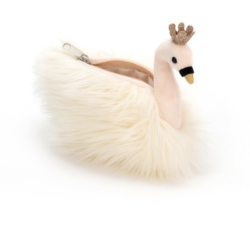 jellycat Fancy Swan Purse