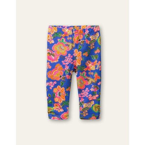 oilily Peppy leggings 50 AOP Vintage flower blue
