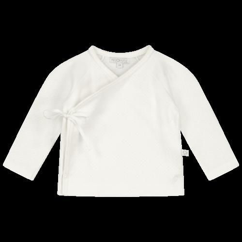 Mats & Merthe Benthe Wrap cardigan OFF WHITE