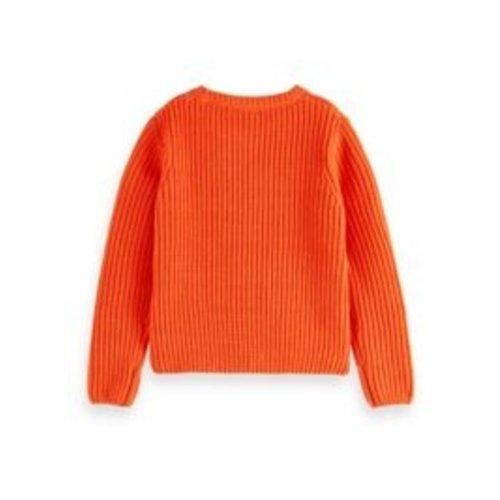 Scotch & Soda Chunky chenille knit 16354