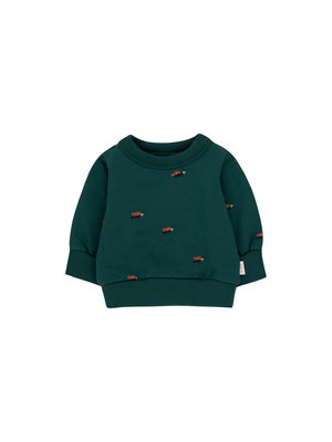 Tiny cottons ANTS BABY SWEATSHIRT  stormy blue/ink blue
