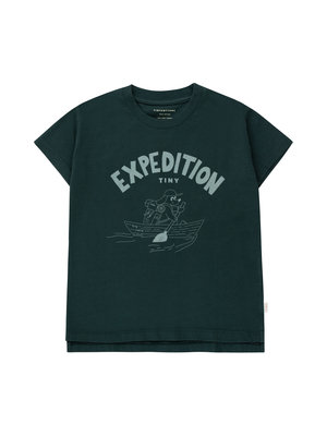 Tiny cottons EXPEDITION TINY TEE  ink blue/foggy blue