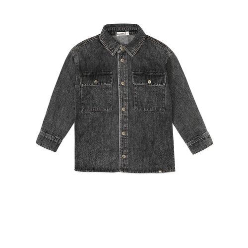 ammehoela Bill denim blouse black