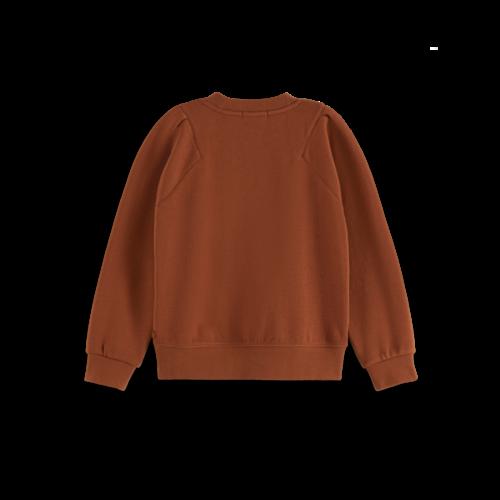 Scotch & Soda 163010 Crew neck ballon sleeve sweatshirt